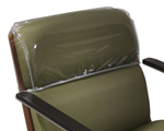 Protective PVC backrest cover