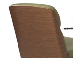 Rosewood backrest shell