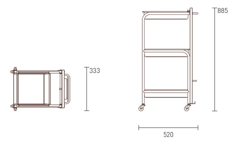 Zen Trolley dimensions